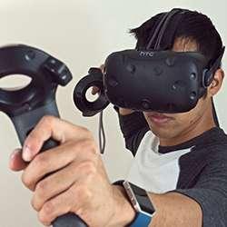 HTC Vive VR systeem