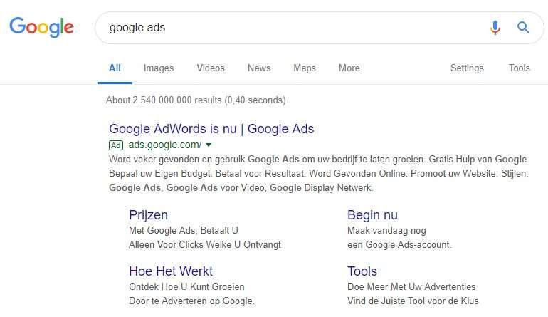 google display netwerk