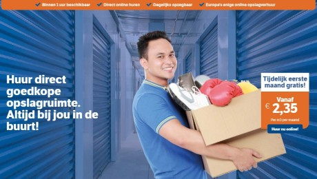 Homepagine Opslagman.nl