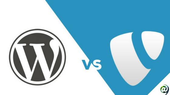 Wordpress vs typo 3