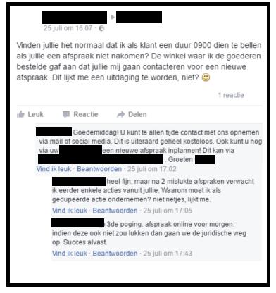 klacht-facebook