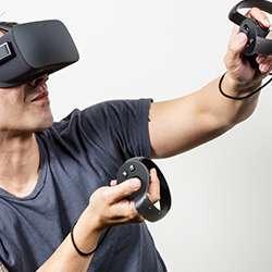 Oculus Rift VR systeem (Facebook)
