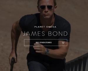 Branded content Omega