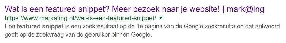 Lengte meta description (Google update)