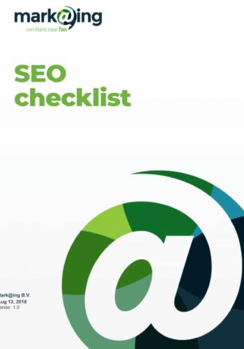 SEO-checklist-voorblad